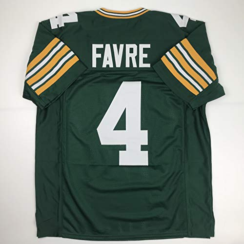 Unsigned Brett Favre Green Bay Green Custom Stitched Football Jersey Size Men's XL New No ()