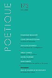 Poétique, N° 173/2013-1 :