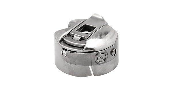 rosenice funda Industrial máquina de coser bobinas para Brother Cantante Juki (plata): Amazon.es: Juguetes y juegos