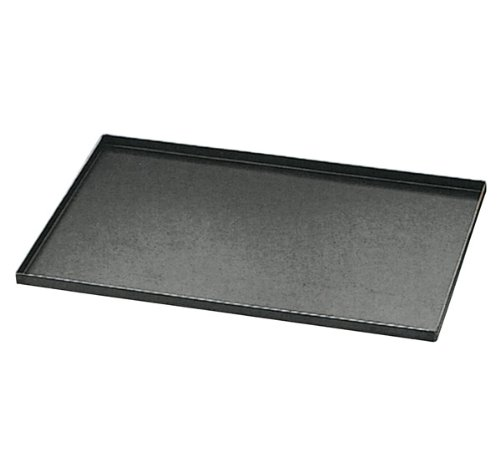 Matfer 455003 Blue Steel Oven Baking Sheet With Straight Edges, Black by Matfer Bourgeat