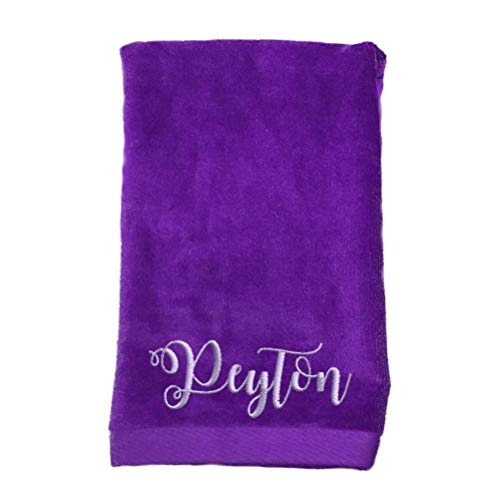 Monogrammed Personalized Name Hand Towels, Size 16