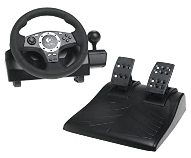 Amazon Com Driving Force Wheel For Playstation 2 And Playstation 3 Artist Not Provided Video Games