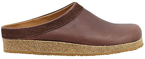 Clogs Cork Leather (Stegmann Men's Leather Graz Clog With Cork Sole)