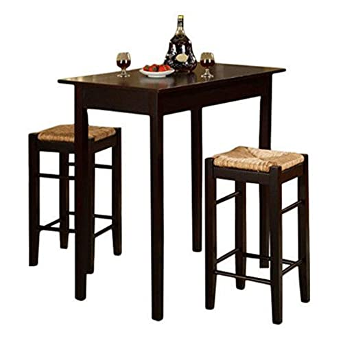 Furniture Rectangle Kitchen Table With Bench Collection: Rectangular Pub Tables: Amazon.com