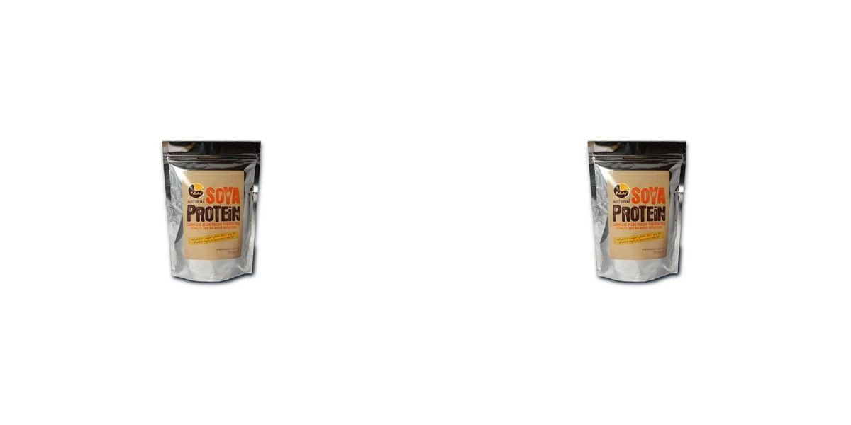 (2 PACK) - Pulsin Soya Protein Isolate - 100% Natural| 250 g |2 PACK - SUPER SAVER - SAVE MONEY