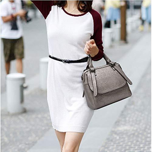 Main À Audburn Mode Epaule Multiples Chic Shopper sac Sac Travail Ville Femme Bandoulière Marron Elégant Sac Poches Porté wwr65qEF