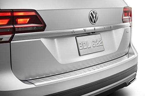 2018-2019 VW Volkswagen Atlas Rear Chrome Bumper Protection Plate With Self-Adhesive