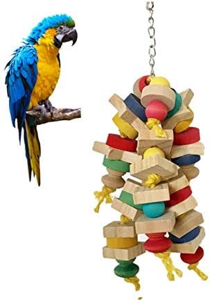 Amazon.com: Bird Toys - Wooden Swing Toys Parrot Interesting Ladder Climbing Chewing Cage Pendant Decoration - Ladder Mirror Seagrass African Made Loves Tube Plastic Diy Under: Home Improvement