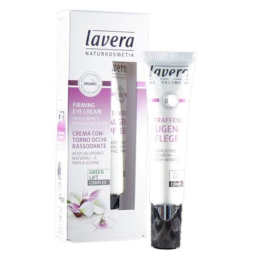 Lavera Karanja Oil and Organic White Tea Firming Cream, Eye, 0.5 Ounce