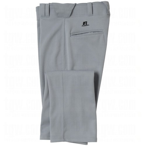 Russell Athletic 234RHMK Men's Baseball Pant - Baseball Grey XXL (Baseball Athletic Russell)