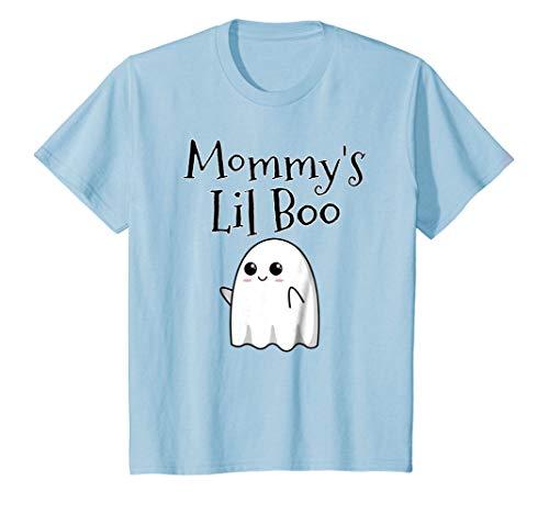 Kids Cute Halloween Ghost Costume Idea Shirt - Mommy's Lil Boo