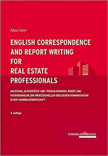 English Correspondence And Report Writing For Real Estate