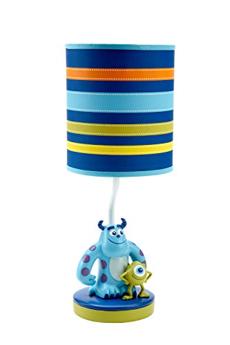 Disney-Monsters-at-Play-Lamp-and-Shade-Multi-Colored