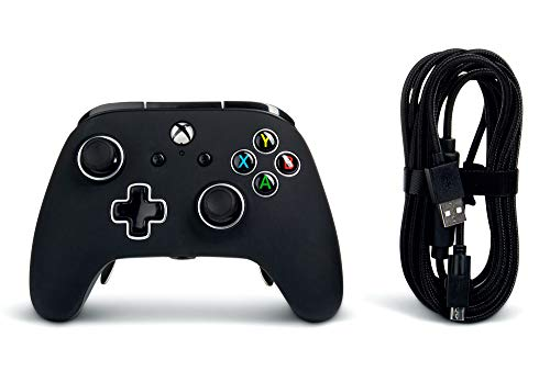 PowerA Fusion Pro Wired Controller for Xbox One - Black 8