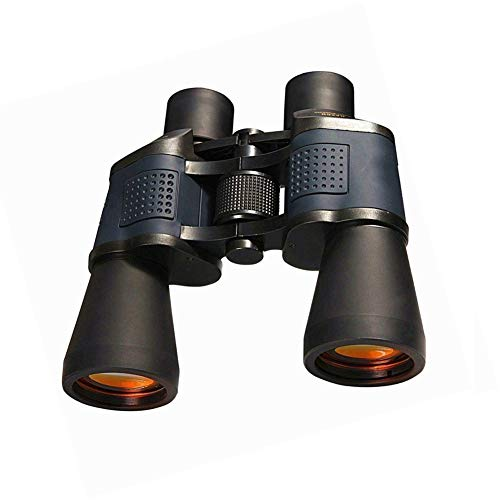 QQLK Binoculars Hd High-Power Night Vision Red Coating with Coordinates, Best for Bird Watching, Travel, Hunting, Concerts ()