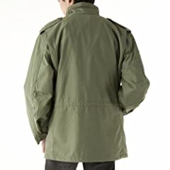 Alpha Industries M-65 Field Coat 2050: Army Green