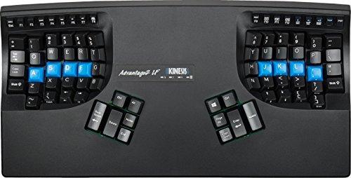 Kinesis Advantage2 LF Ergonomic Keyboard (KB600LF)