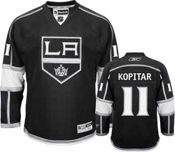 Los Angeles Kings Anze Kopitar Team Color Premier Jersey - Large