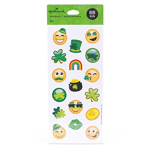 Hallmark Irish-Themed Stickers 68 Count (Hallmark Stickers)