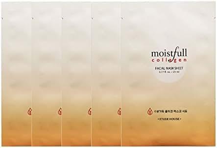 Etude House Moistfull Collagen Mask Sheet x 5 sheet