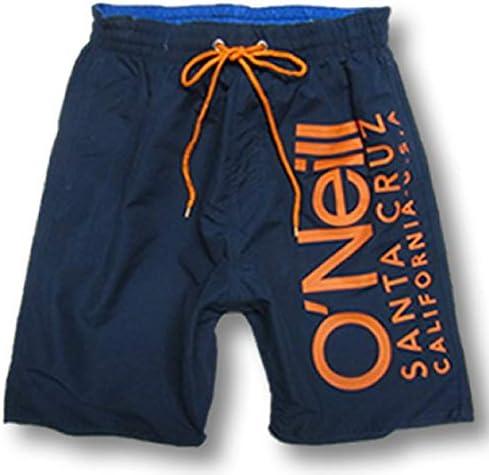 サーフパンツ ボードショーツ オニール メンズ O'NEILL サーフブランド 水着 インナー付き 海パン トランクス 618428 (NVY, M)