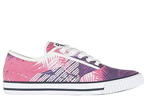 Emporio Armani EA7 Women's Shoes Trainers Sneakers Cult Vintage Summer Pink US Size 6 278087 7P299 14773 by Emporio Armani