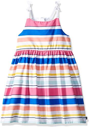 (Nautica Girls' Spaghetti Strap Fashion Dress  bright pink ,L12/14,Big Girls)