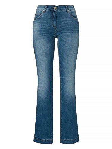 RECOVER pants Vaqueros bootcut Mujer Azul