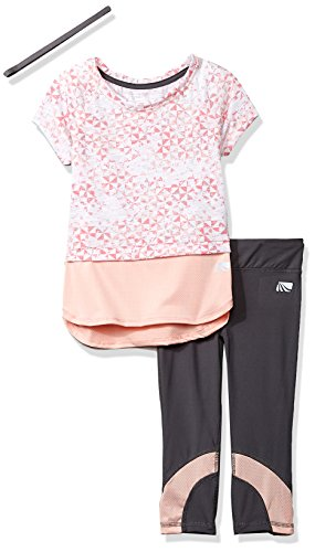 Marika Big Girls' Capri Sets With Headband, Peach Shade, - For Shades Big Heads