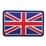 Belloc USA Tactical Patch - National Flag Patch American Flag Magic Stickers Badge Decoration for Boys, 1/4 Pc (England)