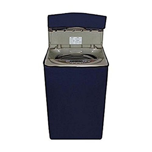 Kuber Industries Top Load Fully Automatic Washing Machine Cover Blue Color (Suitable for 6 kg, 6.5 kg, 7 kg, 7.5 kg)