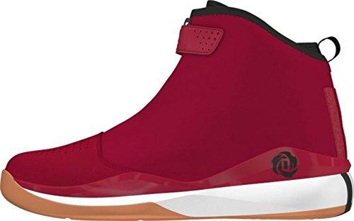 adidas D Rosa 773 Lux Zapatillas de baloncesto Hombre - rojo / negro / blanco, 6