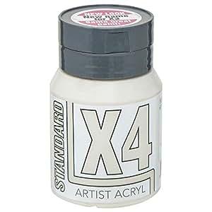 X4 Standard Acryl Acrylic Paint 500ml Titanium Buff Deep