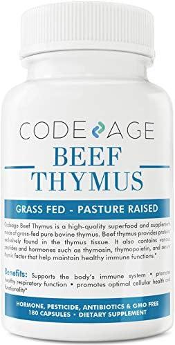 Codeage Grass Thymus Glandular Count
