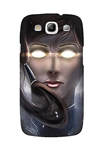 Samsung Galaxy S3 Case, Avatar: The Legend Of Korra Anime Pattern Protective Hard Case Cover Fit for Samsung Galaxy S3 Design By [Jennifer (Avatar Phone Case Galaxy S3)