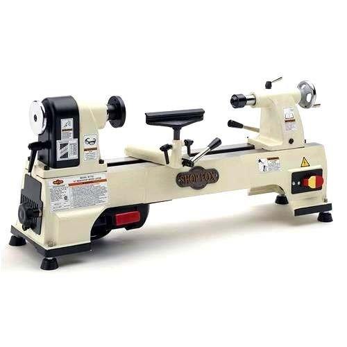 "(USA Warehouse) Shop Fox Benchtop Wood Lathe 10"" x 15.5"" 1/2 HP 6 Speeds 480-4023 RPM W1752 New -/PT# HF983-1754357256"