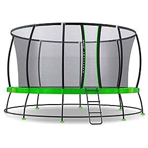 Lifespan Kids 14ft Hyperjump 3 Springless Trampoline Set