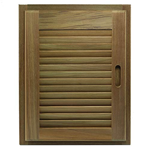 Whitecap 60724 Teak Louvered Door and Frame - 15