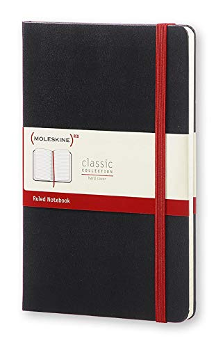 - Moleskine Classic Notebook, Hard Cover, Large (5
