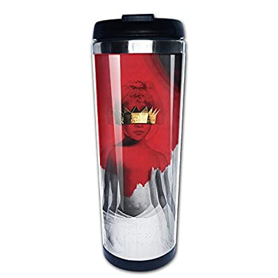 UOJOJONG Rihanna Anti Poster 400ml Double Walled Travel Tumbler