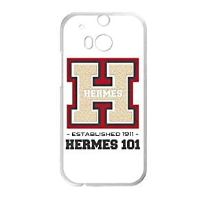 LINGH Hermes design fashion cell phone case for HTC One M8