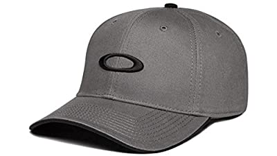 Oakley Men's Silicon O Adjustable One Size Snapback Hat Cap - Sheet Metal