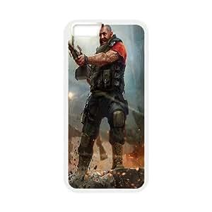 iPhone 6 4.7 Inch Cell Phone Case White world of mercenaries character OJ604648