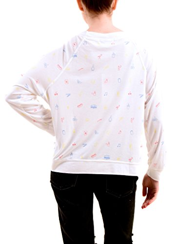 Printed Cross Wildfox Country Blanco Sudaderas Mujer SU5qH8t