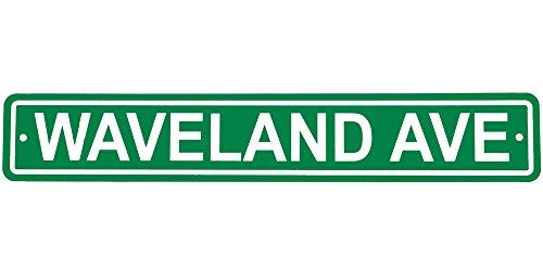 Waveland Avenue Street Sign by Fremont Die