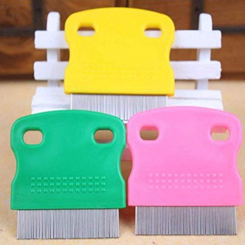 Topbeu 2PCS Pet Dog Cat Flea Combs Fine Teeth Grooming Tool by Topbeu (Image #3)