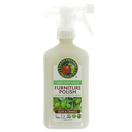 EARTH FRIENDLY Wood Polish - Put your best wood forward - It cleans and returns brilliance effectively - 500 ml
