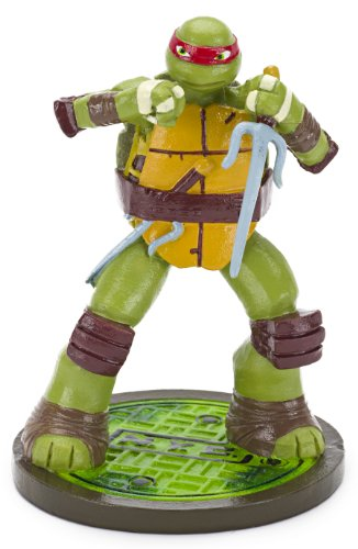 Penn Plax Teenage Mutant Ninja Turtles Raphael Aquarium Ornament, Mini