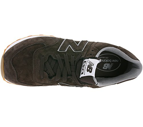New Balance Ml574fsc Sneaker Unisex Brown Full Pigskin