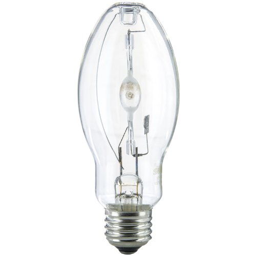 Sunlite MH100/U/MED 100-Watt Metal Halide Bulb, Medium Base, Clear